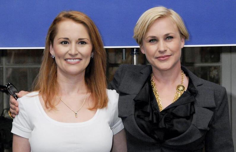 La réelle Allison Dubois et Patricia Arquette pour Medium