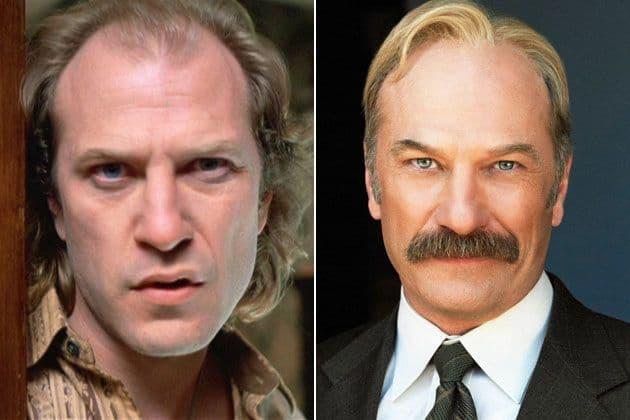 Ted Levine dans les rôles de Buffalo Bill dans Le silence des agneaux et du capitaine Stottlemeyer dans Monk