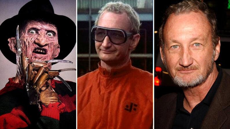 Robert Englund dans les rôles de Freddy dans les Griffes de la nuit et Willie de la série V