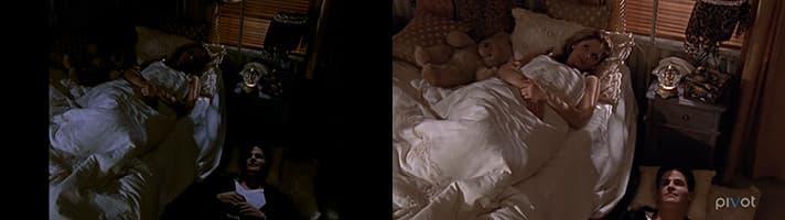 Comparaison de qualité d'image de la série Buffy