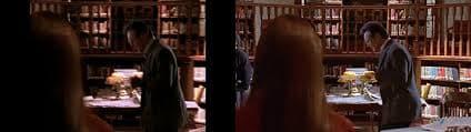Un membre de l'équipe de tournage est visible dans le cadre de la version HD de Buffy