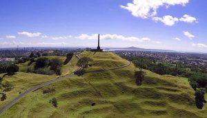 La colline One Tree Hill en Nouvelle-Zélande