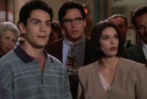 Clark Kent, Lois Lane et Jimmy Olsen dans Lois et Clark, les nouvelles aventures de Superman