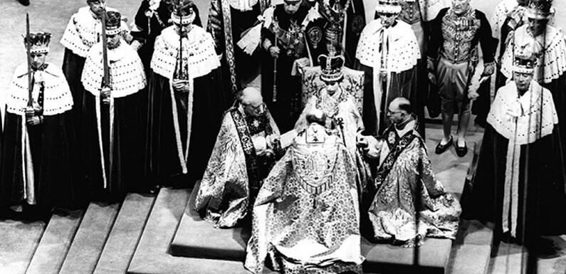 Couronnement de la Reine Elisabeth II en 1953