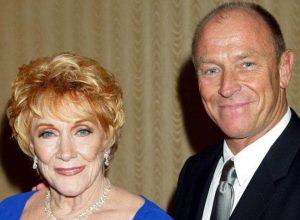 Jeanne Cooper et son fils Corbin Bernsen