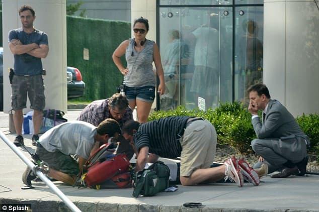 Kristin Chenoweth reçoit des soins d'urgence après un accident sur le tournage de The good wife