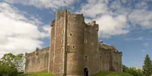 Le château de Doune en Écosse, utilisé pour la série Outlander