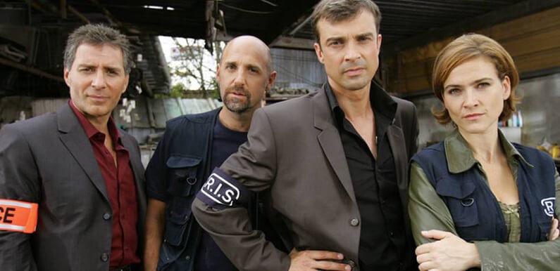L'équipe de flics de RIS police scientifique