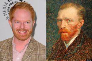 Comparaison du physique entre Jesse Tyler Ferguson de Modern Family et Vincent Van Gogh